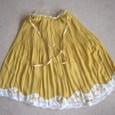 たんぽぽ色のスカート