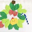 折り紙アート☆クリスマス♪