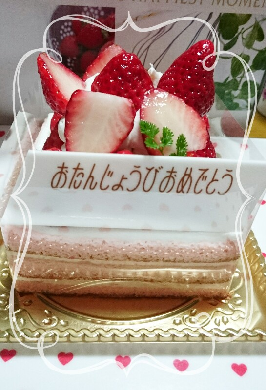 My birthday⭐ケーキ♪